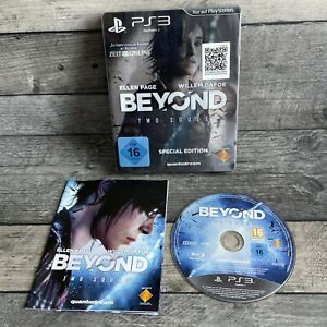 Beyond: Two Souls -- Special Edition (Sony PlayStation 3, 2013) - German Disc