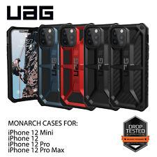 Urban Armor Gear (UAG) iPhone 12 Mini Pro Max monarca Funda Cubierta Resistente mil. Spec