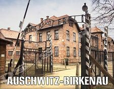 Germany - Auschwitz-Birkenau - Travel Souvenir Flexible Fridge MAGNET
