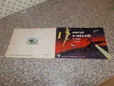 ALBUM AEREI E MISSILI PANINI 1965 CON 39 FIGURINE MOLTO BUONO TIPO EDIS LAMPO