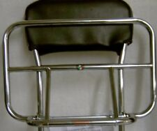 Lambretta Scomadi TL50-125S Cuppini Chrome Back Rest And Fold Down Carrier