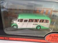 EFE 20111 -- BEDFORD OB COACH - GREY GREEN - ON ROUTE CLACTON