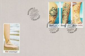 Aland Tattoo Art Hand And Body Åland Island Finland Mint FDC 2006