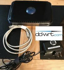 NETGEAR WNDR3400 Dual-Band N600 4-Port 10/100 Wireless N VPN Router WITH DD-WRT