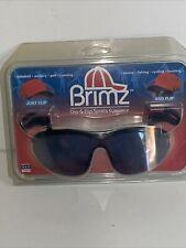 Spartans Flip Up Sunglasses Brimz Clip On Sports Eyewear Michigan State Nip