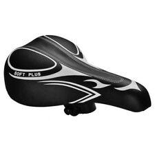 Sella Sediolino Sedile Soft Nero Universale Per Bici Bicicletta MTB Corsa Citta'