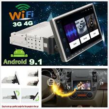 "New listing 1+16G 9"" Single Din Android 9.1 Car Stereo Radio Gps Sat Nav WiFi Obd Mlk Bt Dab"