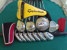 Taylormade R7 Irons Driver Wood Hybrid Odyssey Putter Complete Golf Club Set RH