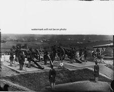 """Gun Crews of 3rd Massachusetts Heavy Artillery 8""""x 10"""" Civil War Photo #144"""