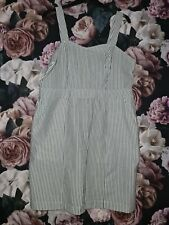 Forever 21 Stripped Pinafore Dress Size 20