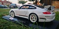 MAISTO 1:18 Scale Porsche white 911 GT3 RS 4.0 Special Edition Car SEE VIDEO
