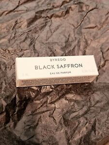 Byredo BLACK SAFFRON Eau De Parfum EDP 2ml niche perfume sample🖤BRAND NEW