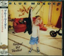 BLUE MURDER NOTHING BUT TROUBLE JAPAN 2014 SHM CD +1 -  John Sykes - Whitesnake