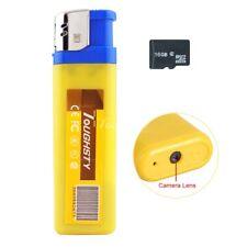 Hidden Camera Disguised Spy Lighter Cam DVR Video Recorder Security + 16GB Card