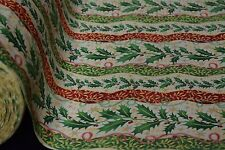 "Quilt Fabric Christmas Mistletoe Print Craft Apparel 45"" Holiday 12152"