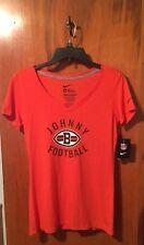 Nwt Nike Women's Cleveland Browns Johnny Football Slim Fit Shirt Size Medium
