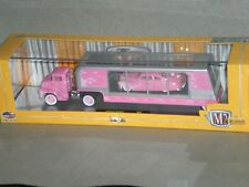 1/64th M2 Machines Auto-Haulers 1956 Ford C-500 COE & 1949 Mercury Custom Pink