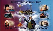 MODERN GEMS - Sierra Leone - Century of Electricity Starts - Sheet of 6 - MNH