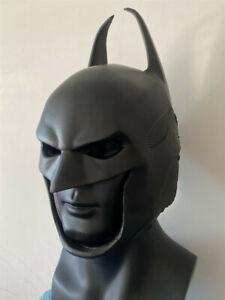 2020 Batman ARKHAM KNIGHT PU BATMAN HELMET MASK Made BY PU FORM  Full Head
