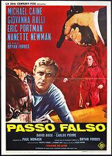 CINEMA-manifesto PASSO FALSO caine, ralli, portman, newman, FORBES