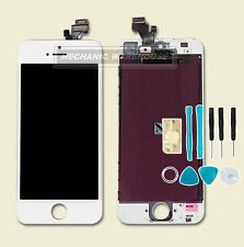 Replacement LCD Screen Digitizer Touch Glass Unit For Apple iPhone 5 / 5G White