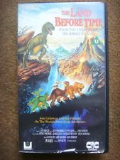 The Land Before Time VHS video Don Bluth dinosaur film **tested and working**