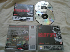 Resident Evil 2 PS1 (COMPLETE) Sony Playstation Capcom rare platinum