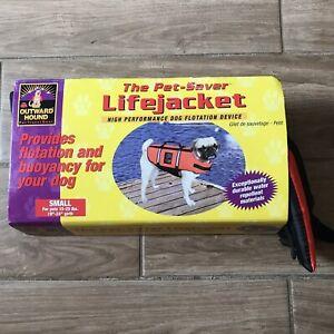 Outward Hound Dog Life Jacket Small 15-25lbs Orange - New w/Tags  Dog Life Vest