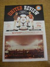 06/03/1985 Manchester United v Videoton [UEFA Cup] (token removed). Thanks for v