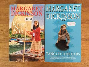 2x Margaret Dickinson Paperback Books - Bundle, Job Lot