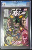 Amazing Spider-Man #595 Marvel Comics CGC 9.8 White Pages Wolverine/Menace App