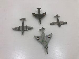 Vintage Dinky Plane Lot, Meteor, 736, Tempest
