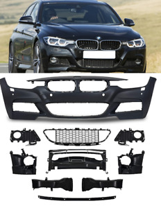 BMW F30 F31 2015-2019 saloon touring M sport style look front bumper washers PDC