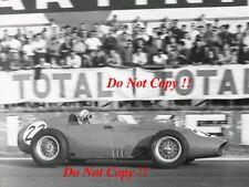 Jean Behra Ferrari 246 Dino French Grand Prix Rheims 1959 Photograph 1