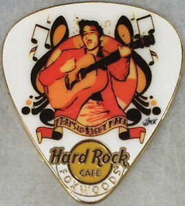 """Hard Rock Cafe FOXWOODS 2016 ELVIS PRESLEY """"That's All Right Mama"""" PIN HR #90397"""