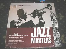 JAZZ MASTERS-12 CD BOX SET 200 SONGS ARMSTRONG-BASIE-MILLER-GOODMAN ETC NEW