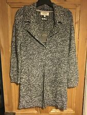Brand New Women's Fat Face Blue Carbis Coatigan Cardigan Size Small
