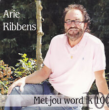 Arie Ribbens-Met Jou Word ik 100 cd single