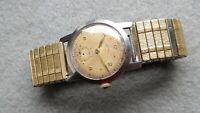 Vintage small size gents Rotary watch, steel type, calibre XA 700, for repair.