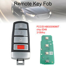 FOR 2006-2014 VW VOLKSWAGEN PASSAT CC 3+1BUTTONS REMOTE ENTER KEY FOB NBG009066T