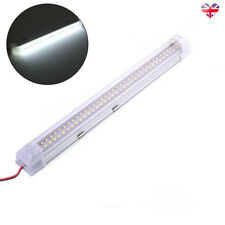 72LED Interior Light Strip Bar Car Van Bus Caravan ON/OFF Switch 12V 12 VOLT