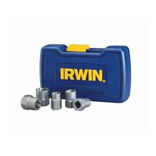 IRWIN BOLT-GRIP 5-Piece Bolt Screw Extractor Set -Remove Rusted Rounded-off Bolt