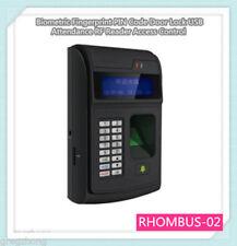 Fingerprint Pin Code Door Lock Usb Attendance Rf Reader Access Control Biometric