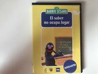 BARRIO SESAMO DVD EL SABER NO OCUPA LUGAR EXPERIMENTOS