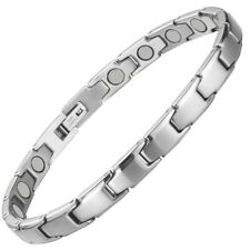 Trinity Silver Magnetic Bracelets For Women - Arthritis Pain Relief Wristband