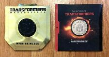 TRANSFORMERS Masterpiece Coins for MP08 Grimlock & MP09 Hot Rod Rodimus Prime