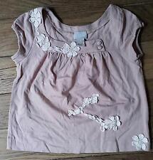 Túnica Blusa Camiseta de tirantes Rosa Pálido 6 años CYRILLUS