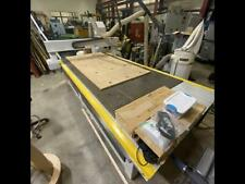 Technocnc 5 X 10 Cnc Router With Vacuum Hold Down Pump And Dust Collector