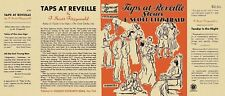 Facsimile Dust Jacket ONLY F. Scott Fitzgerald Taps at Reveille 1st Edition 1935