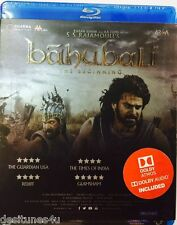 BAHUBALI: THE BEGINNING - BOLLYWOOD HINDI BLU RAY - FREE POST